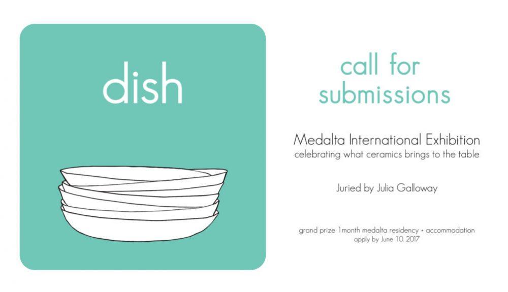 dish exhibition Medalta