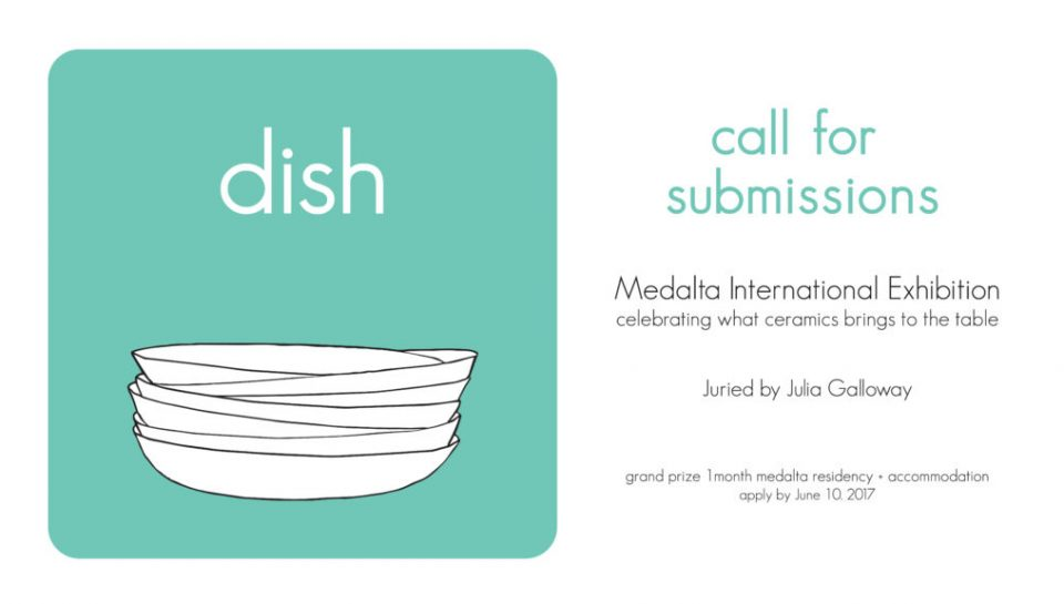 dish exhibition Medalta