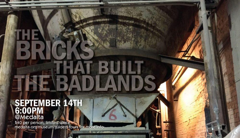 bricks that built the badlands Medalta