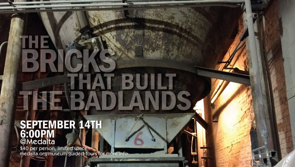 bricks that built the badlands Medalta
