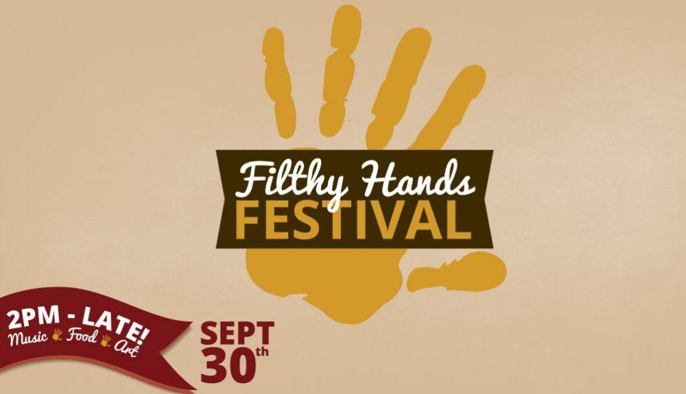 filthy hands festival Medalta
