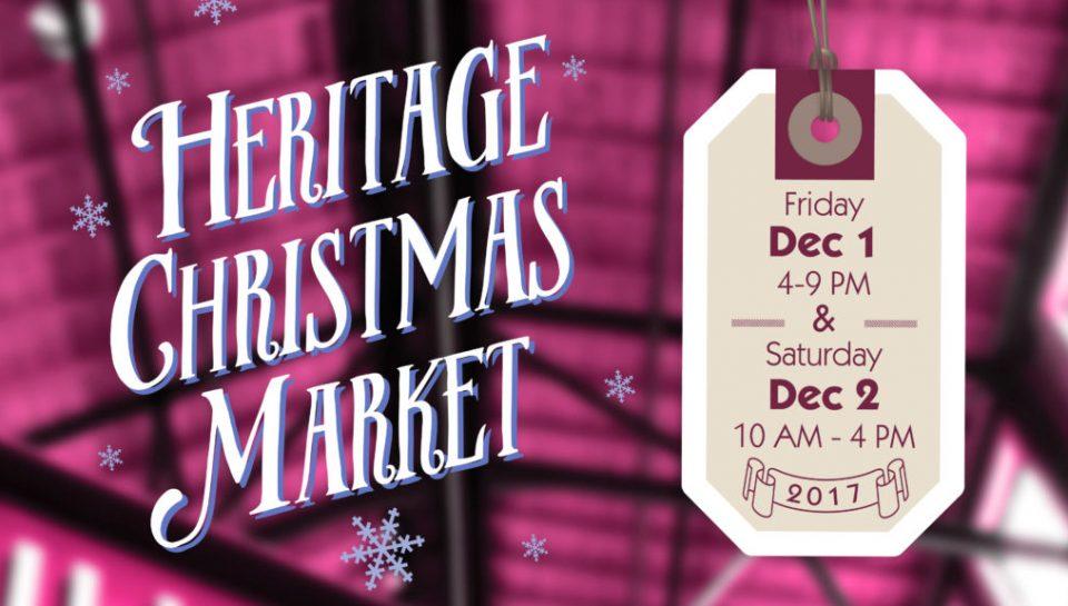 heritage christmas market Medalta