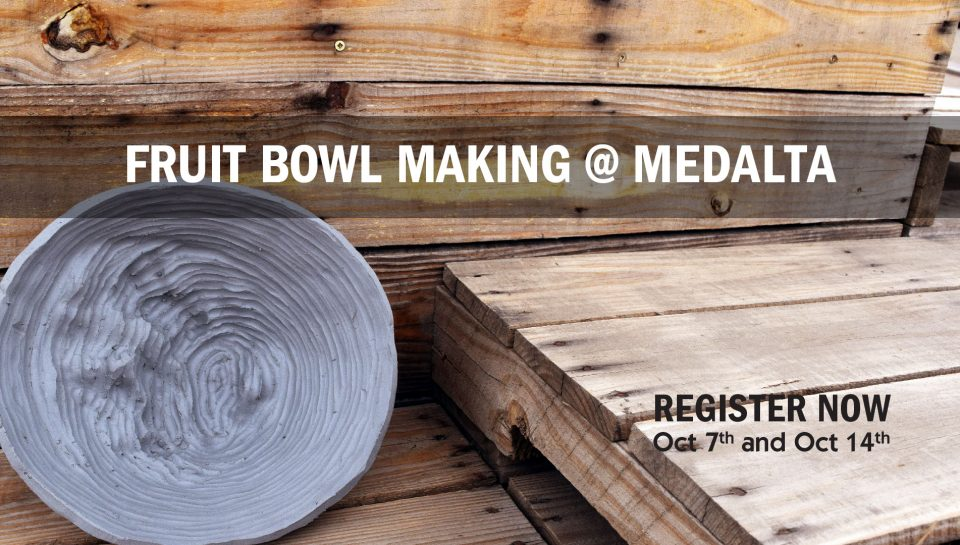 Fruit Bowl making @ Medalta