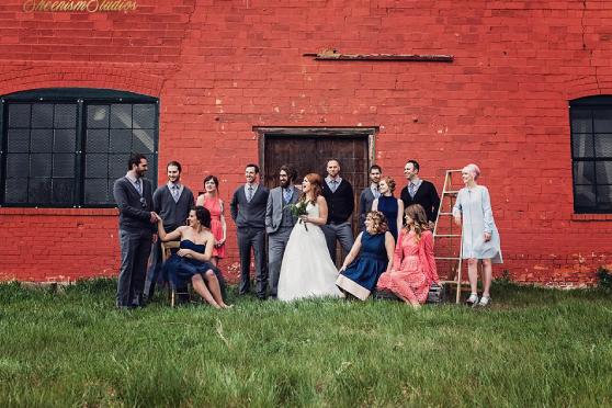 Medalta wedding